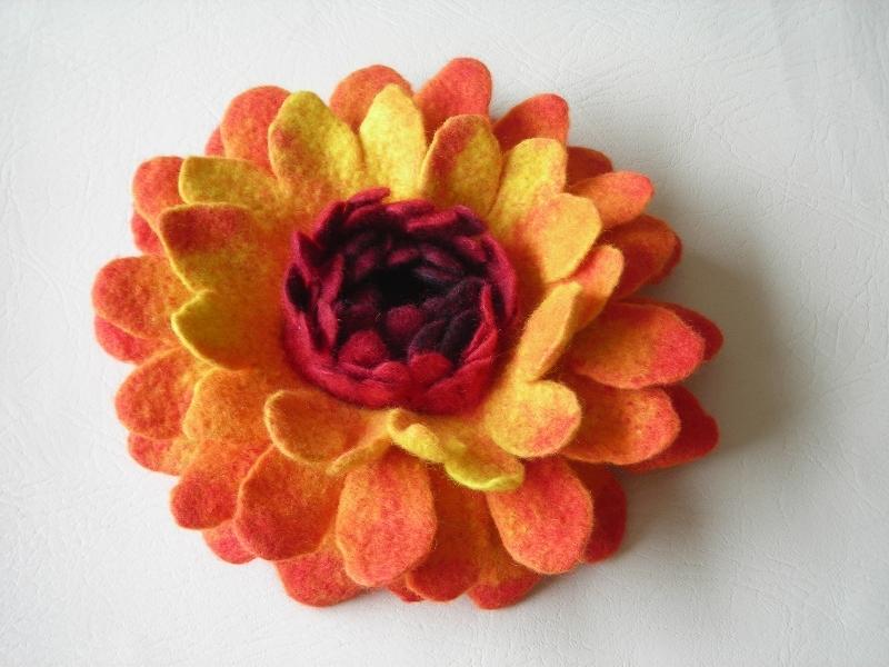 felted-flower