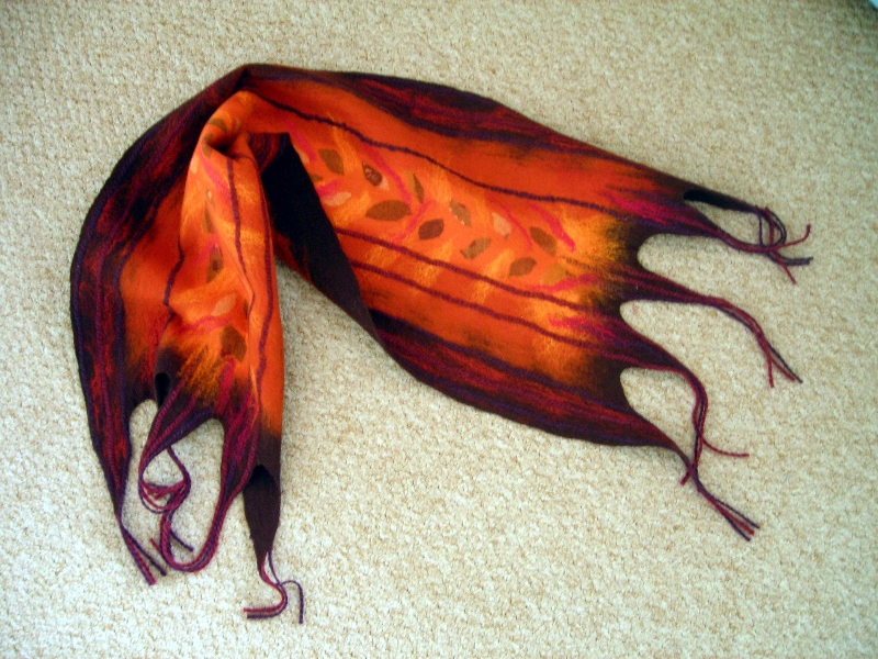 felted-scarf