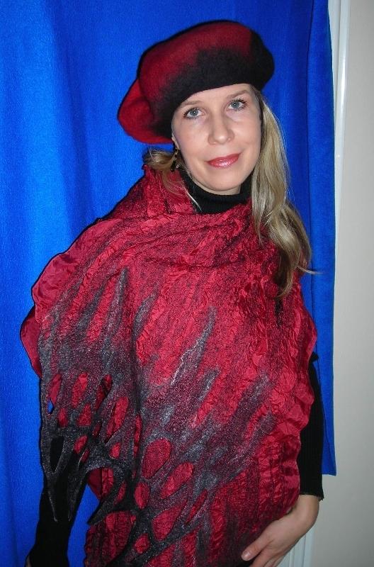 nuno-felt-wrap-and-beret