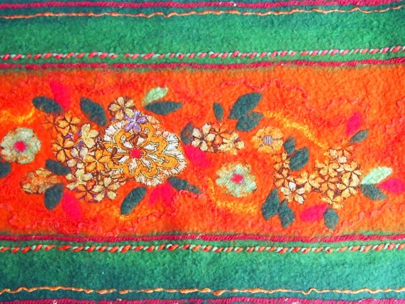 Autumn Style Scarf (fragment)