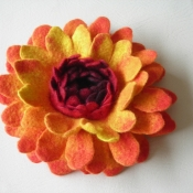 felted-flower