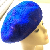 handfelted-textured-blue-beret