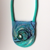 Sea Style Felted Bag