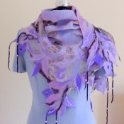 Summer Shawl Nuno Felt