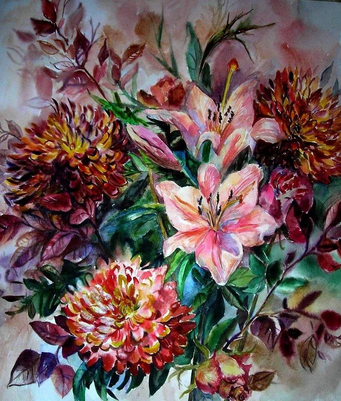 celebration of colours-58x62cm