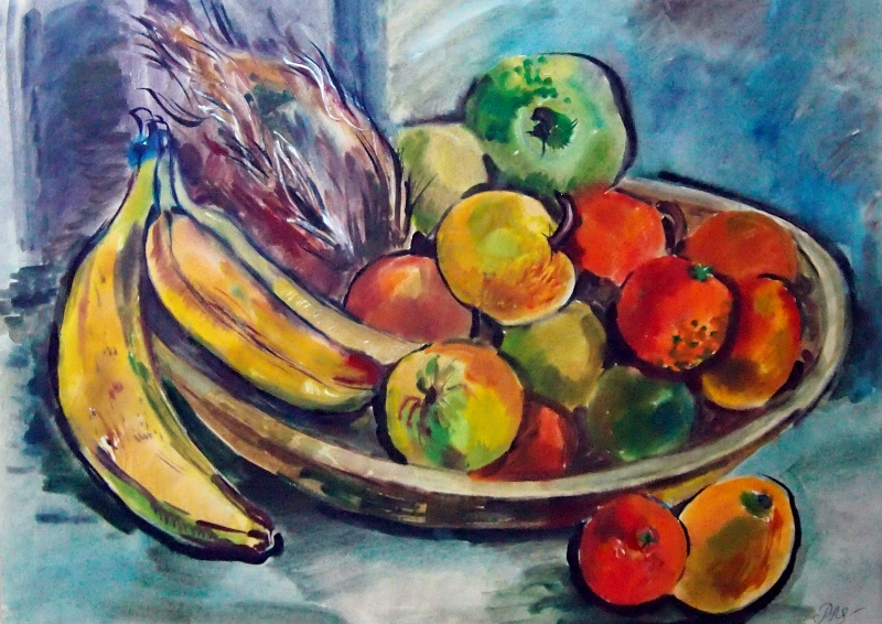 still-life-with-apples-and-bananas-58x72cm