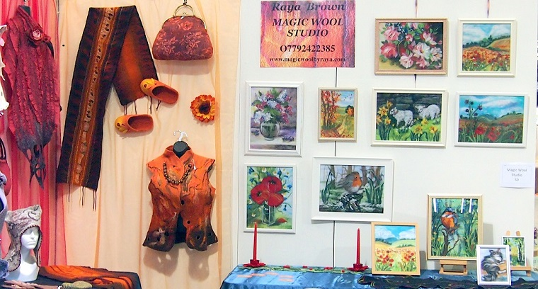 Magic wool art and craft studio is taking part in fashion