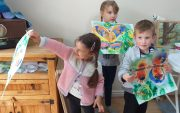 Half-term Art classes for children at Magic Wool Art and Craft Studio in Kidderminster