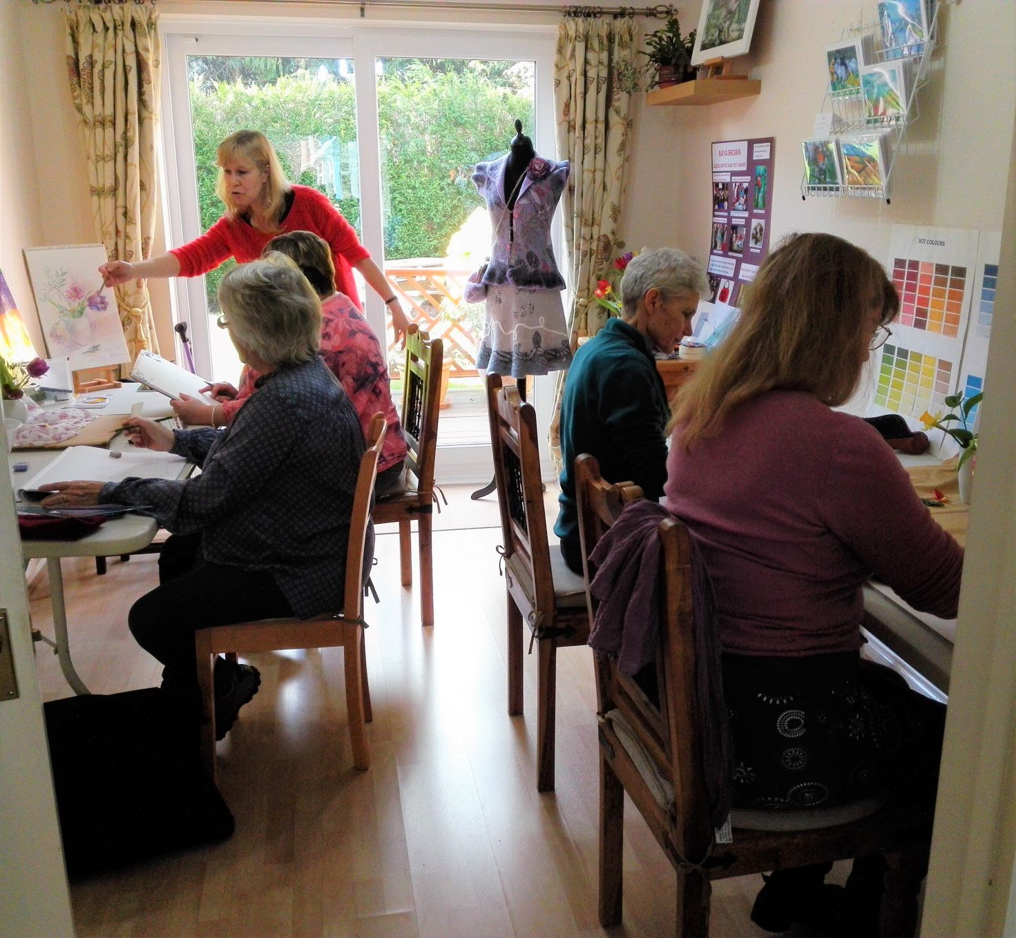 Fundamental Art Skills course for complete beginners in Kidderminster Worcestershire