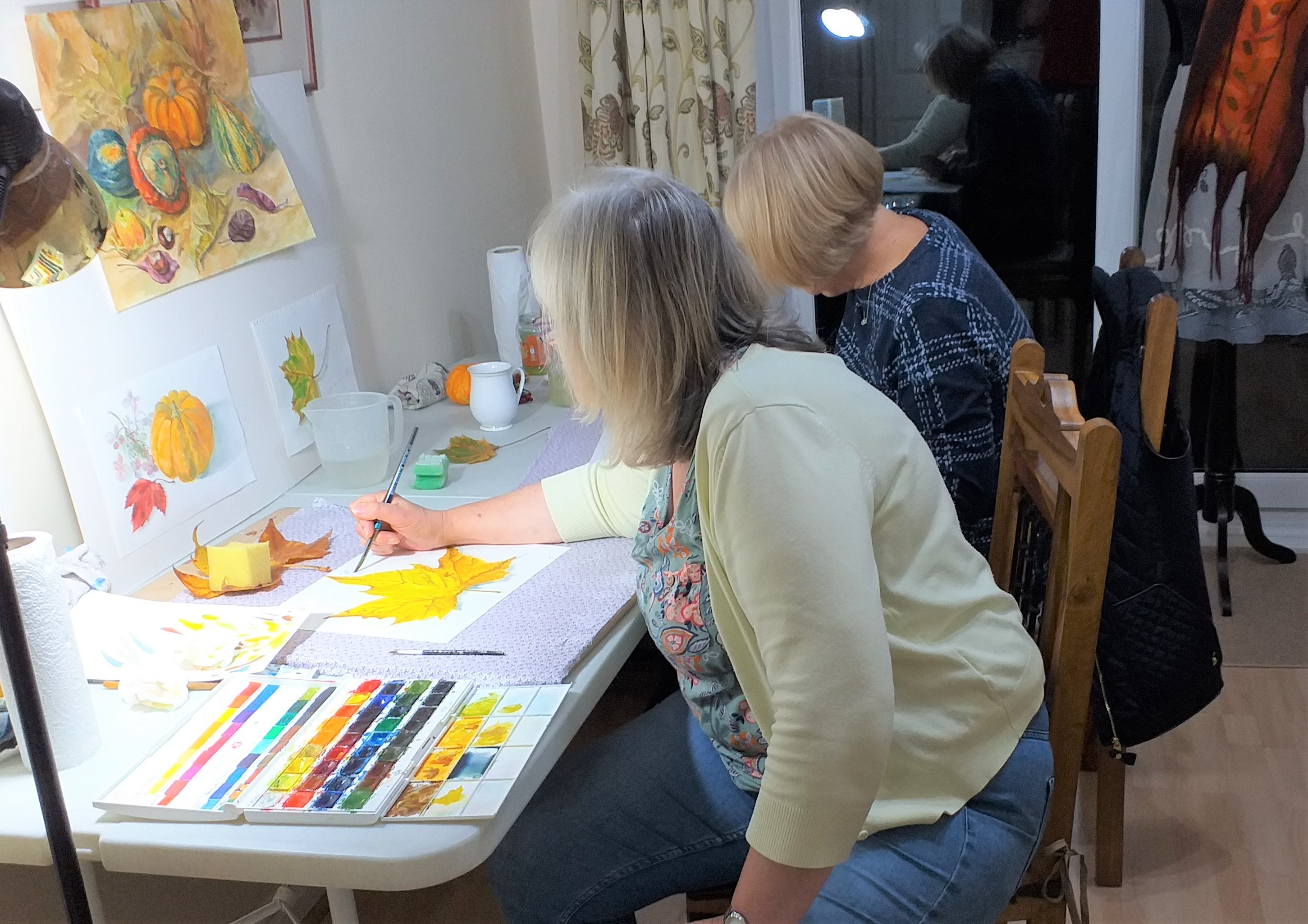 watercolour course for complete beginners in Kidderminster