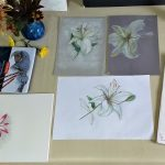 Art classes for absolute beginners in Kidderminster Worcestershire are becoming more popular