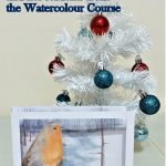 Beautiful Handmade Greeting cards in watercolour by students at Art Classes in Kidderminster.