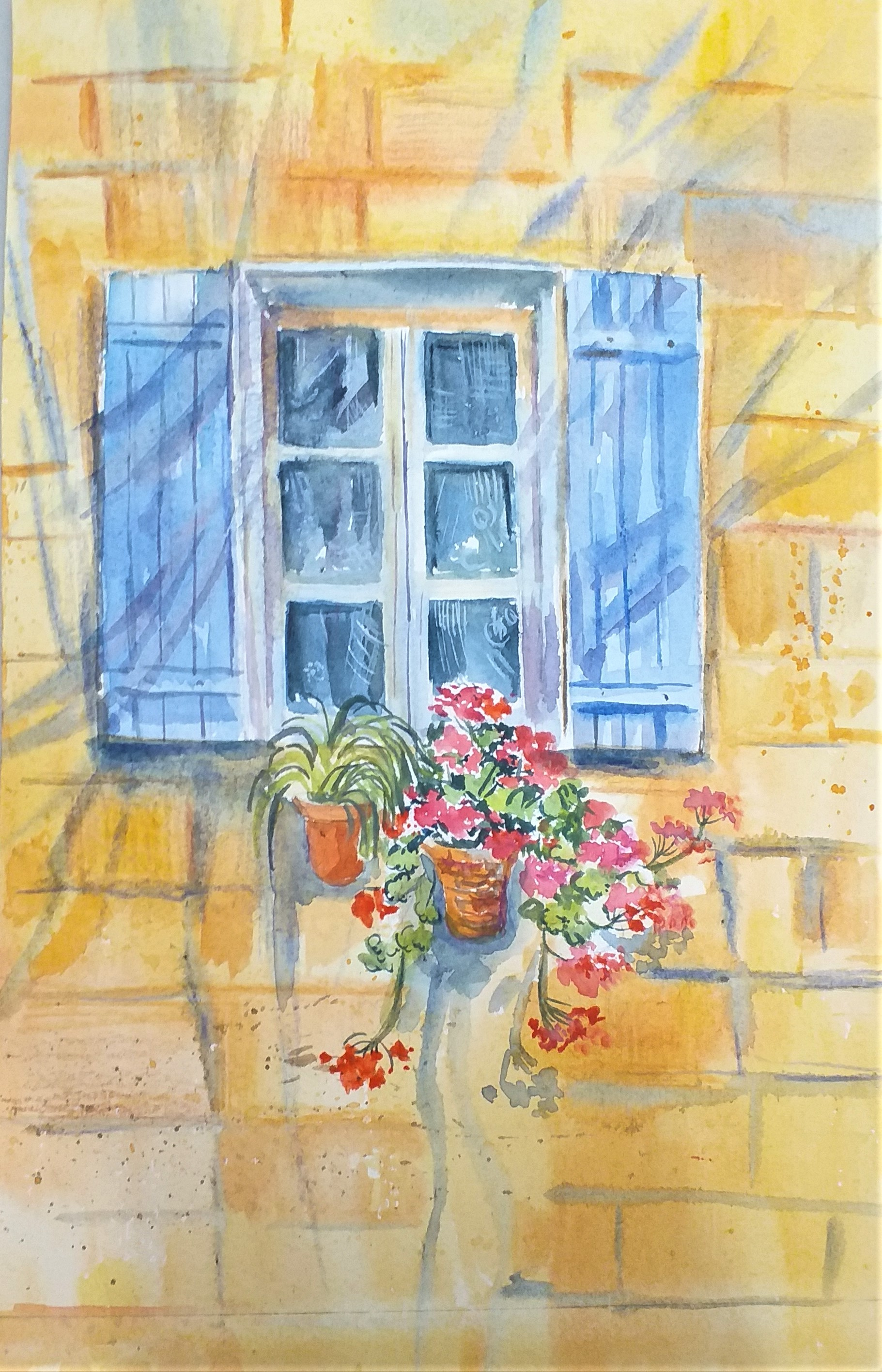 Learn how to paint architecture in watercolour