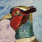 Learn how to paint birds in Watercolour at online interactive art course in Worcestershire.