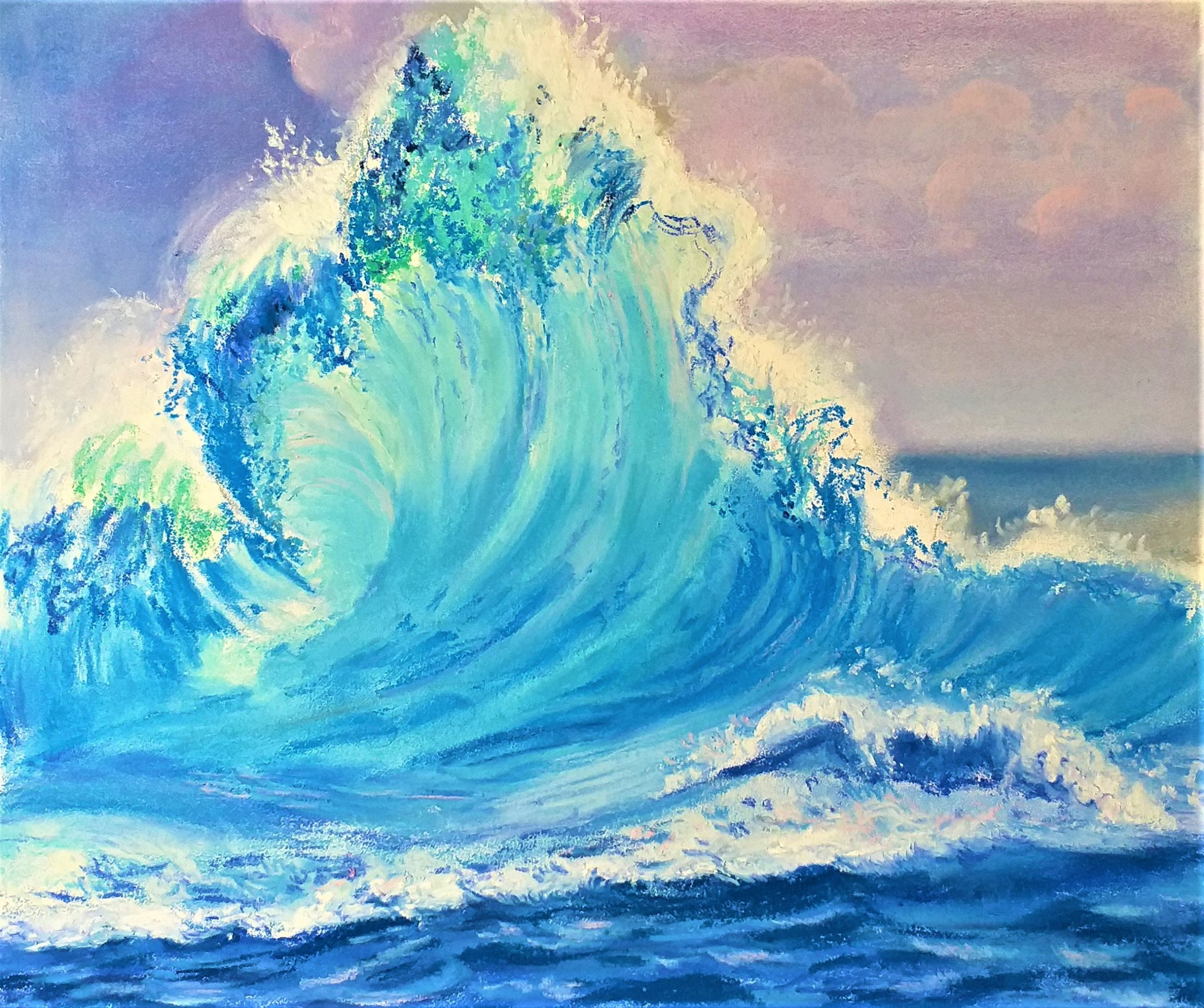 Introduction to soft pastels interactive online zoom art course