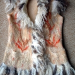 felted-waistcoat-made-with-blue-faced-leicester-romney-and