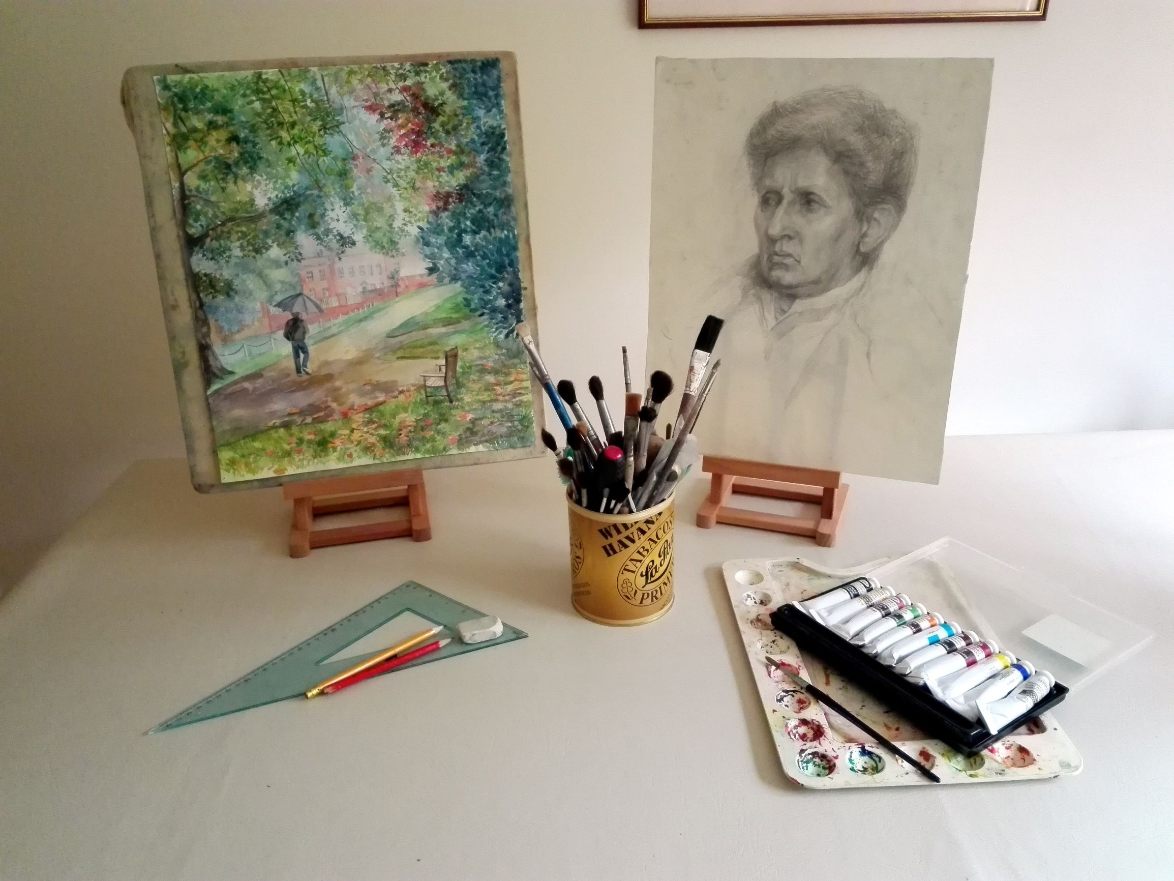 Learn how to draw with a professional Artist and a Tutor Raya Brown at her Fundamental Art Skills course