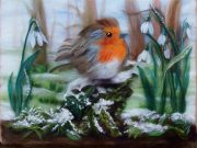Merry Christmas from Magic Wool Art and Craft Studio in Kidderminster