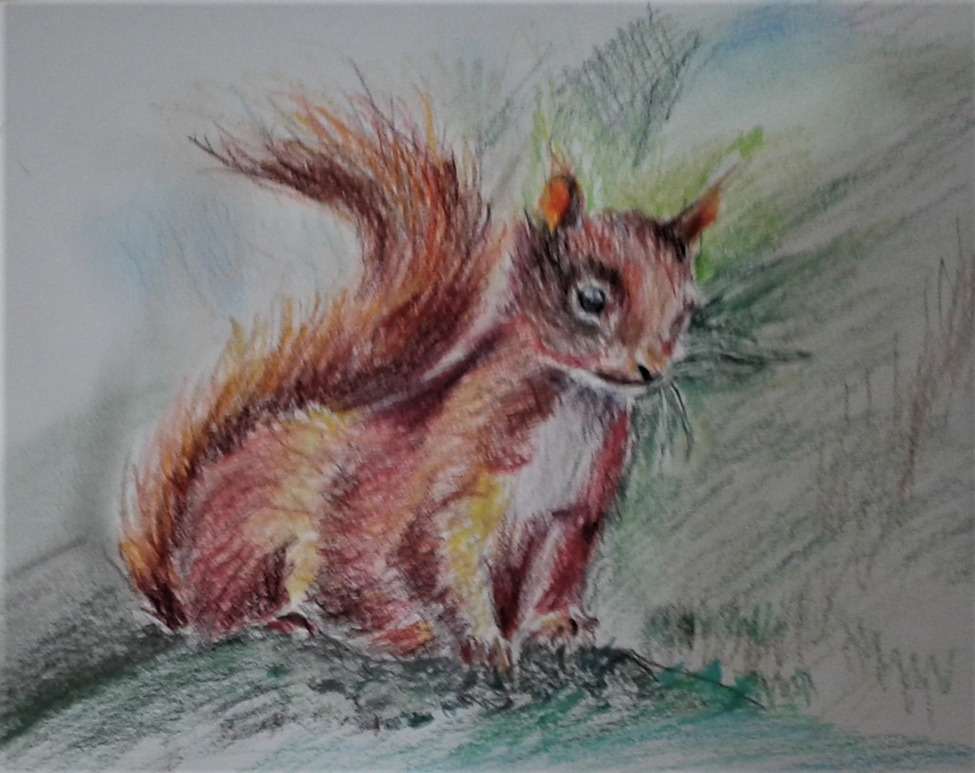 Learn to draw animals with Raya at her art classes