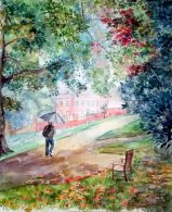 Learn watercolour painting with a professional artist in West Midlands