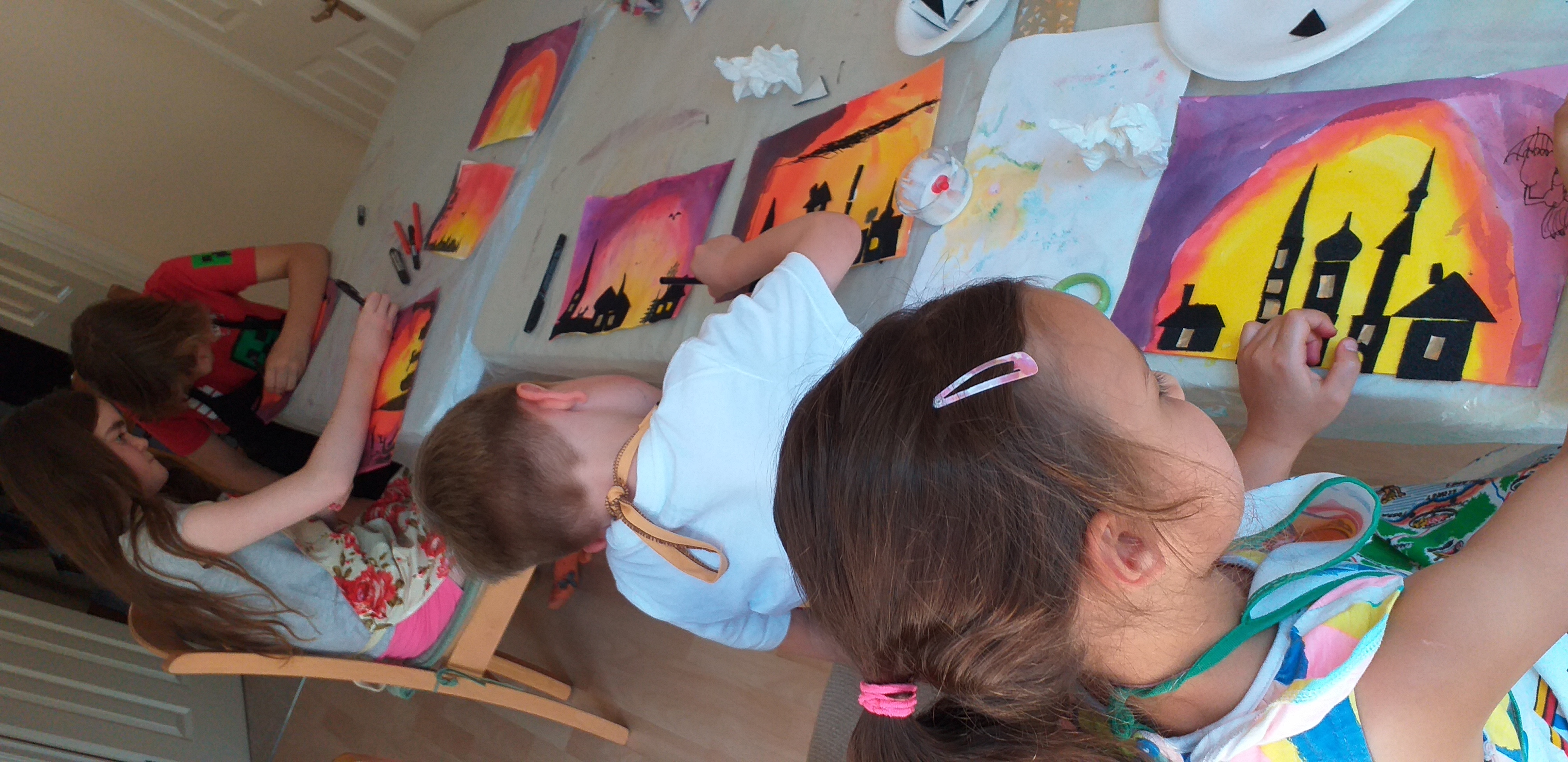 Summer holiday activities for children at Magic Wool Art and Craft Studio in Kidderminster Worcestershire