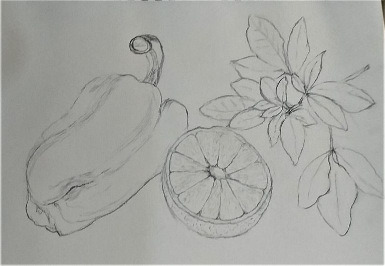 Worcestershire Art Tutor is impressed by high achievement of her students from her  Art Classes .