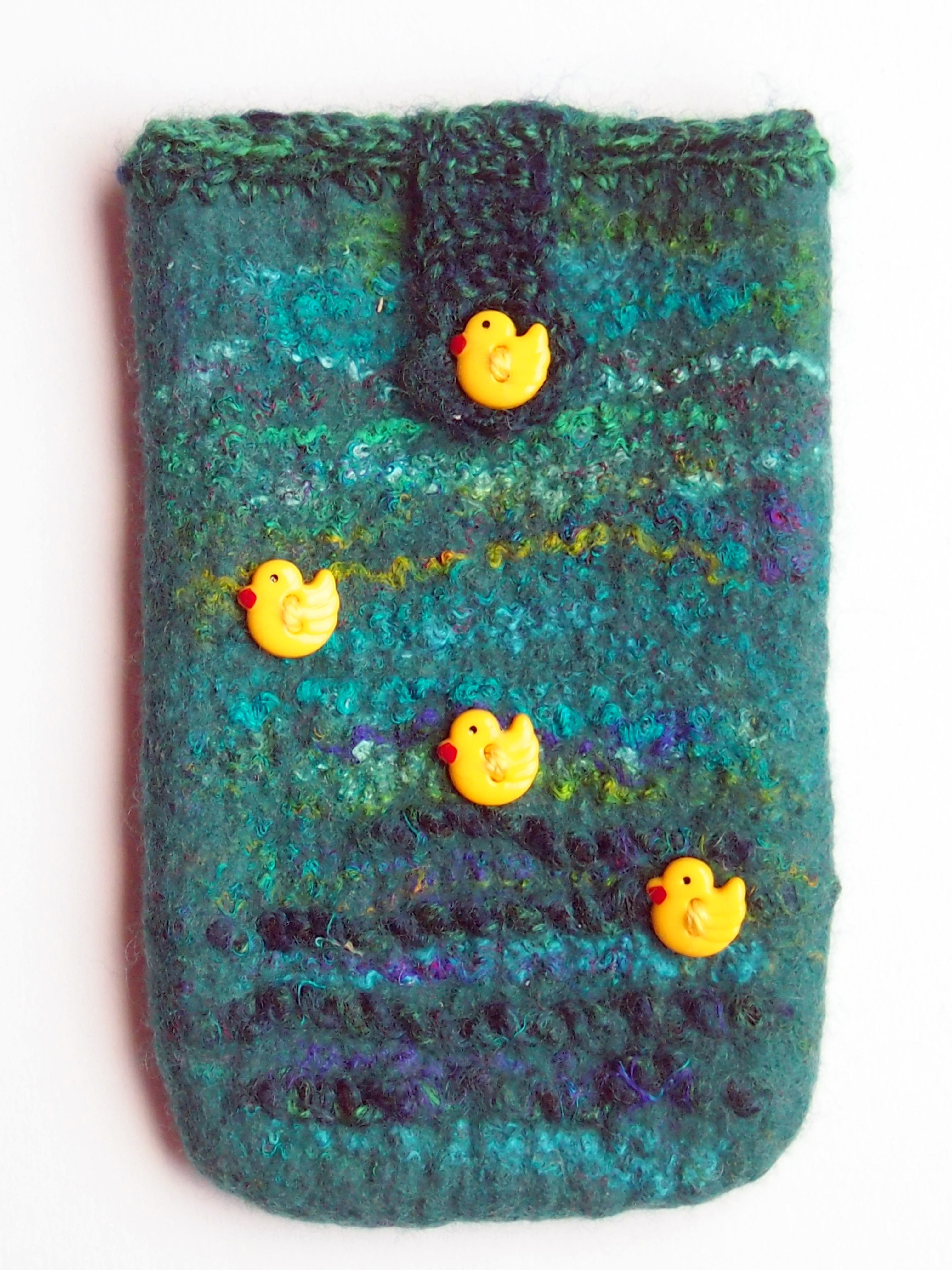 'Felted Mobile phone/glasses case' online course