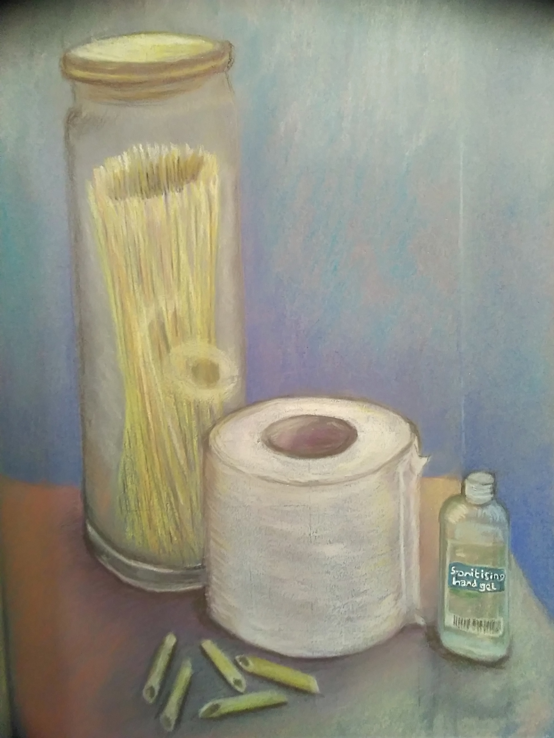 Clare's still life with a historic meaning