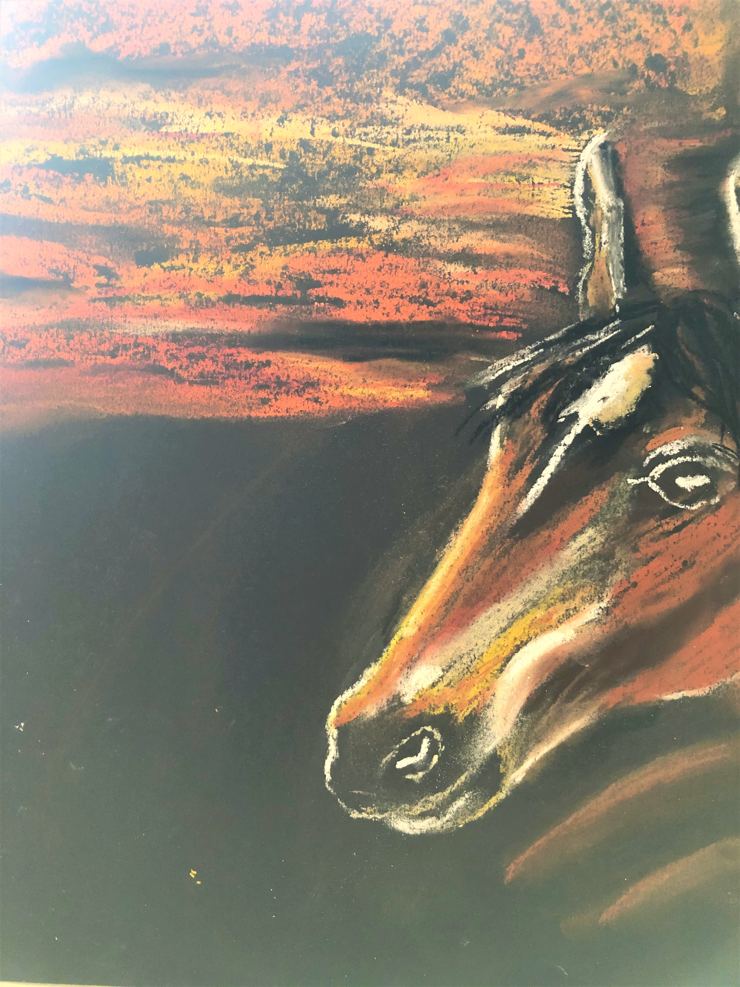 Learn how to use pastels at online art course with Raya Brown in Worcestershire Interactive Course