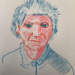 Learn to draw portraits at online art course with live tuition with Worcestershire artist Raya Brown