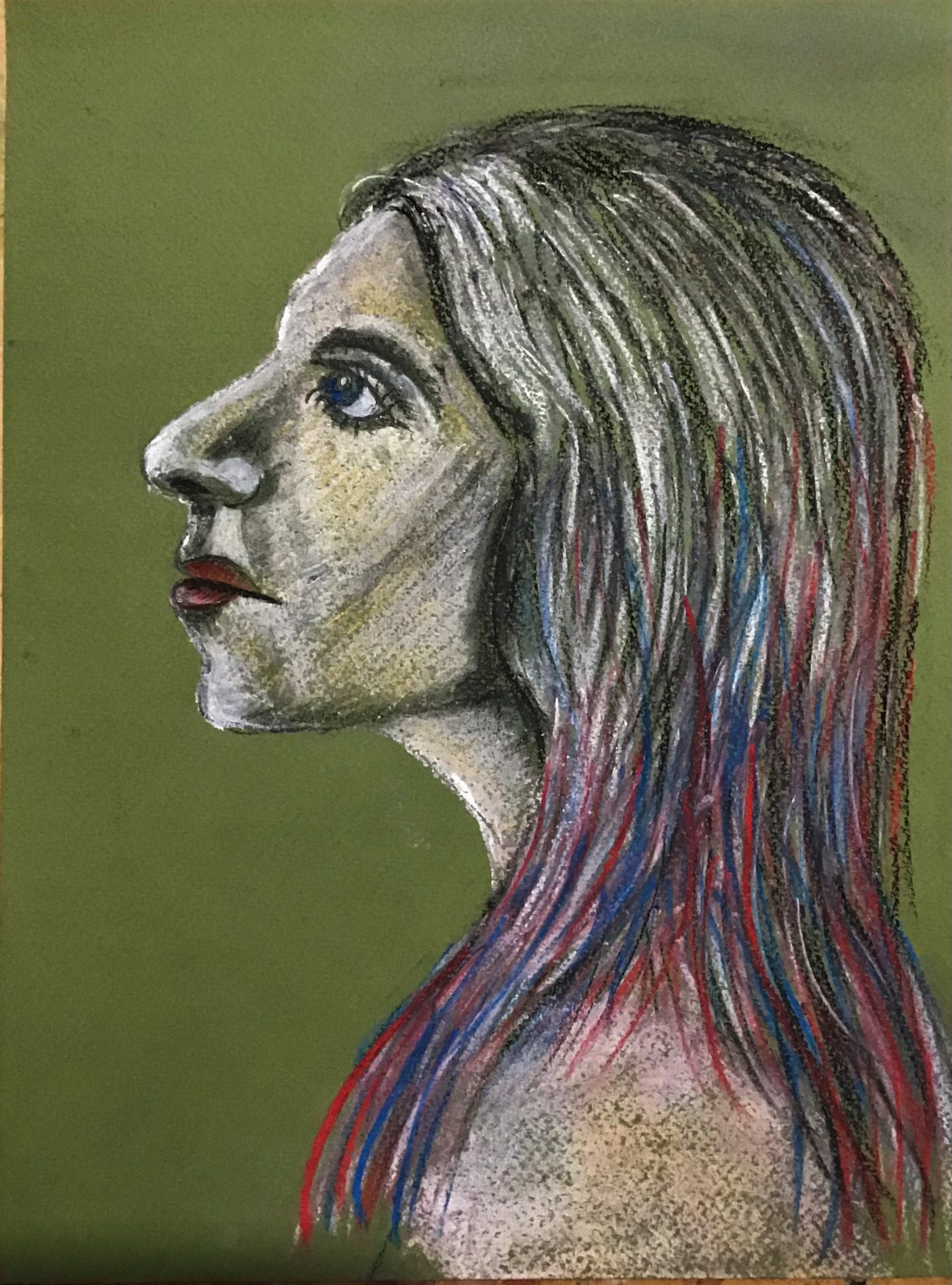 Learn how to draw portraits with Raya Brown at her online art course
