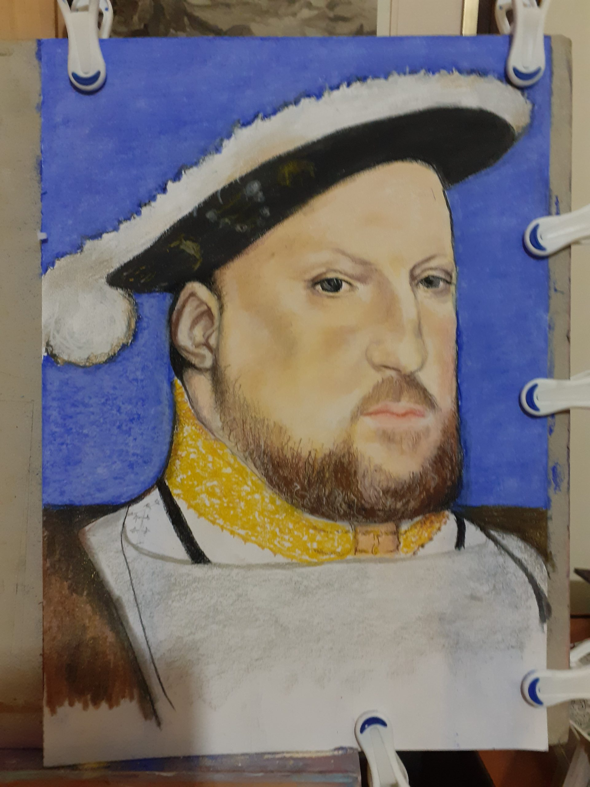 Portrait of Henry the 8th by GIll