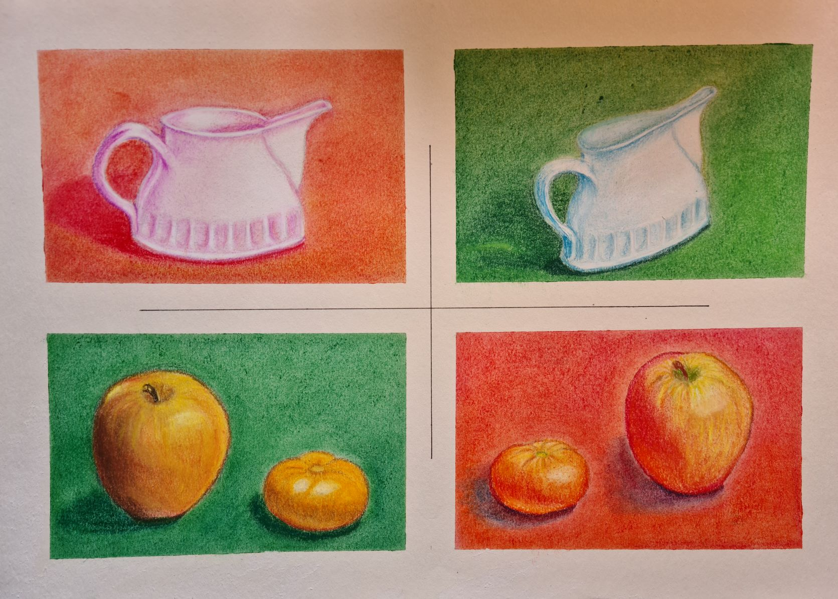 Explore pastel with artist Raya Brown at her online zoom art course