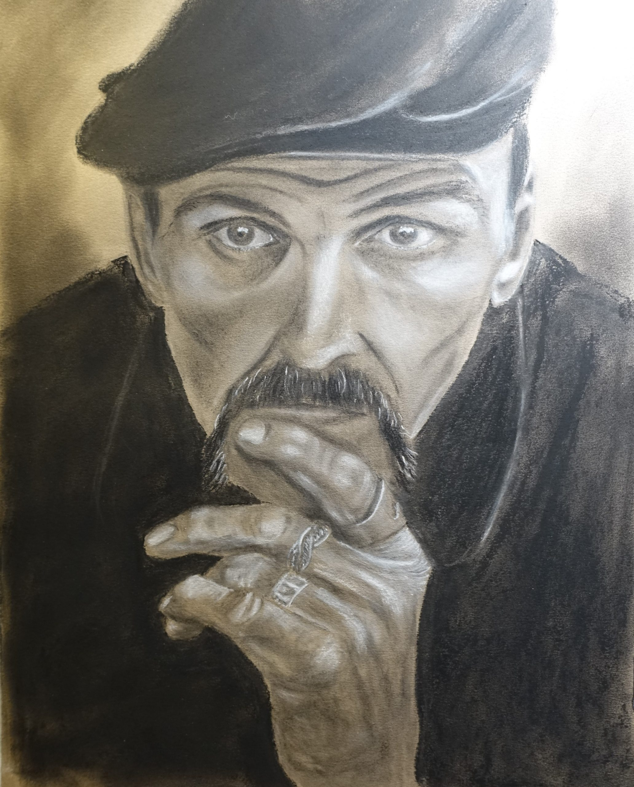Learn how to draw great portraits with pastels