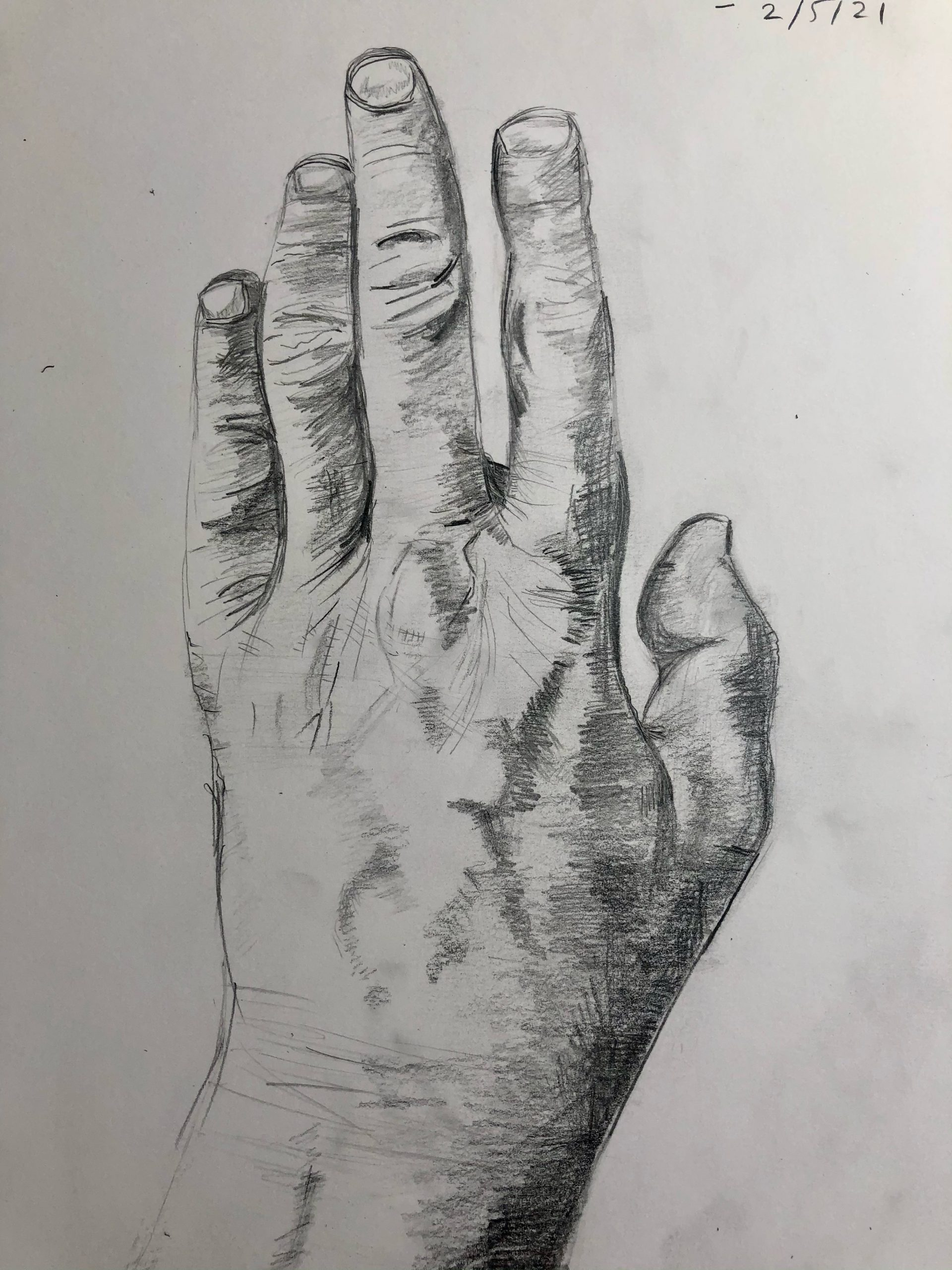 Learn how to draw human hands with Worcestershire Artist Raya Brown