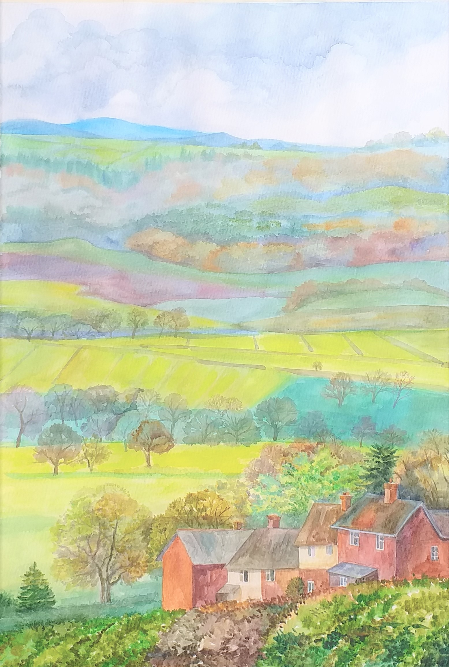 Learn to paint watercolour in Kidderminster Worcestershire