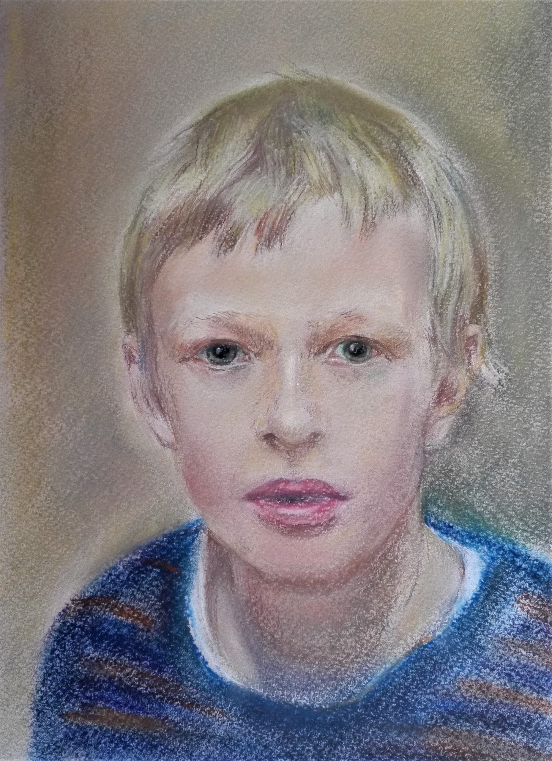 Advanced Level Portrait Art course with Worcestershire artist Raya Brown.