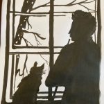 Learn to create beautiful portrait silhouettes with West Midlands Artist and Art Tutor