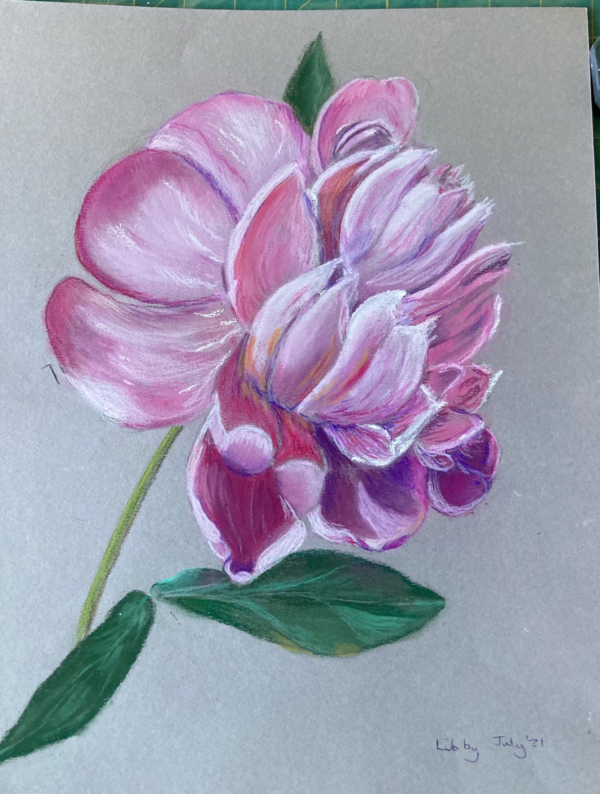 Learn soft pastels with Worcestershire artist Raya Brown