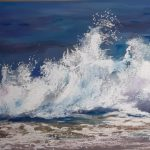 Learn to paint beautiful seascapes at interactive online art course with Worcestershire artist Raya Brown.